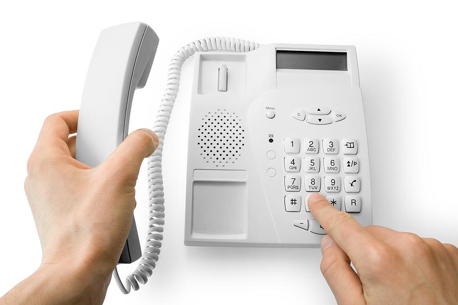 знакомства с клиентом по телефону