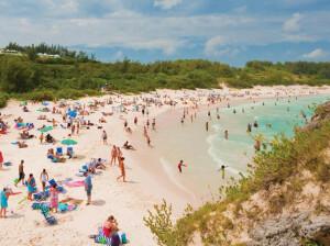 розовый пляж